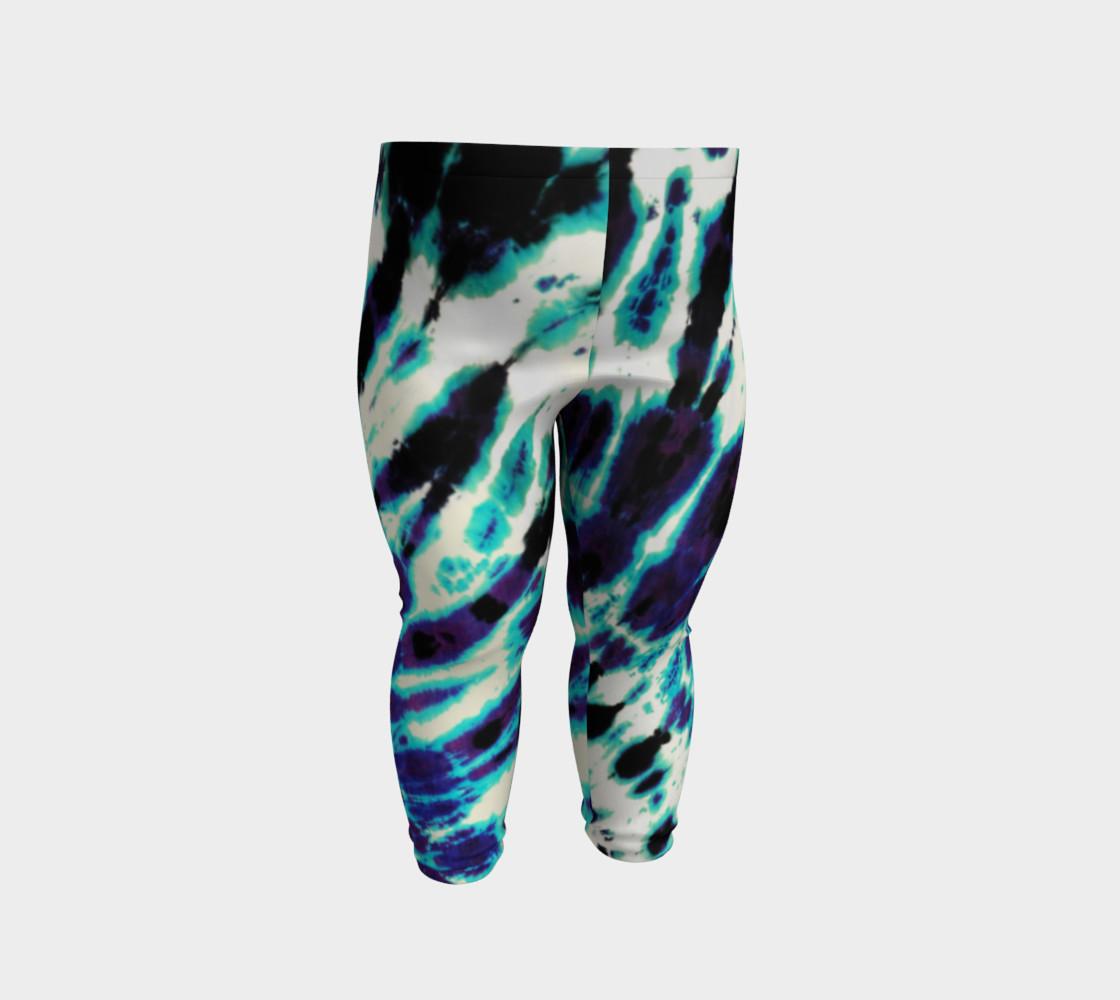 Tie Dye Baby Leggings preview #2