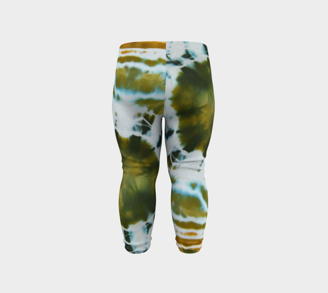 Green Geode Baby Leggings preview #6