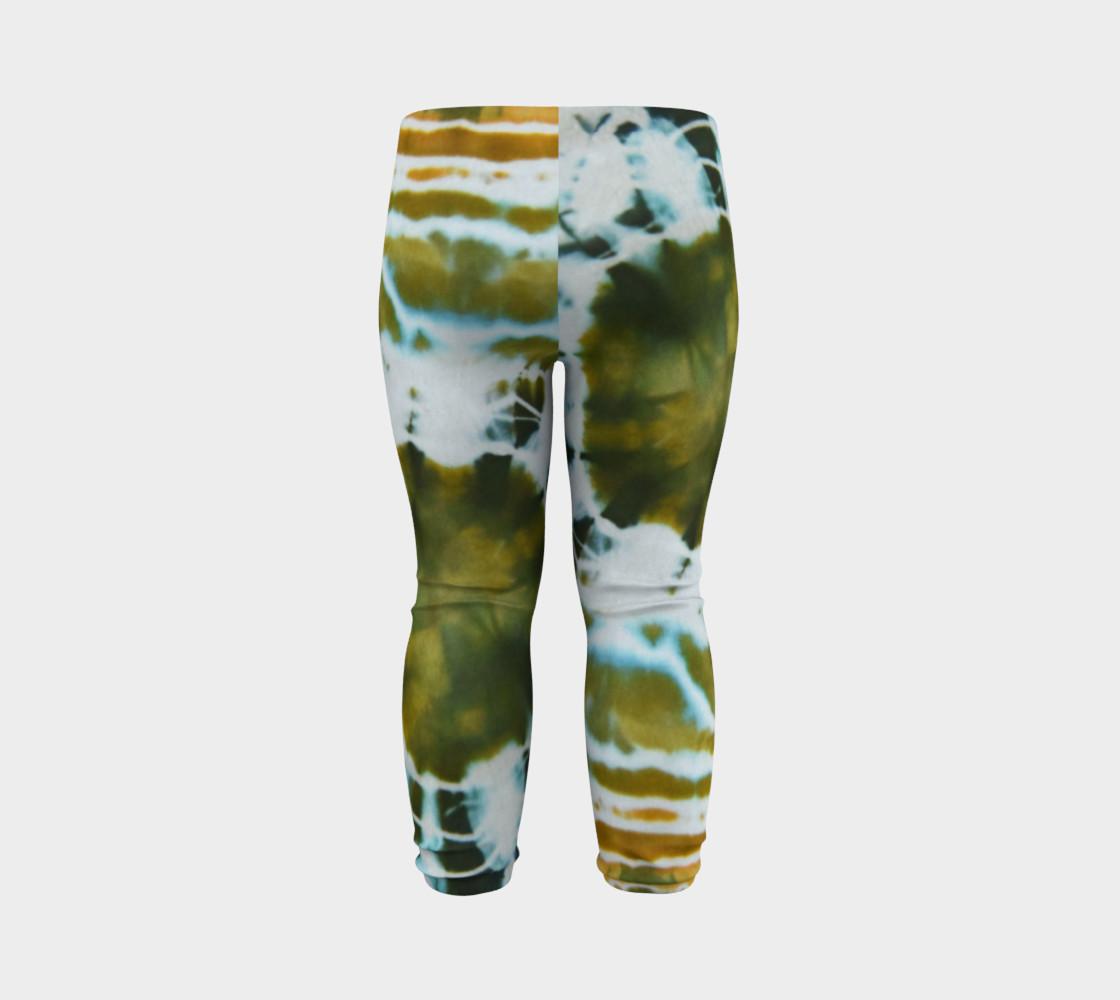 Green Geode Baby Leggings preview #7