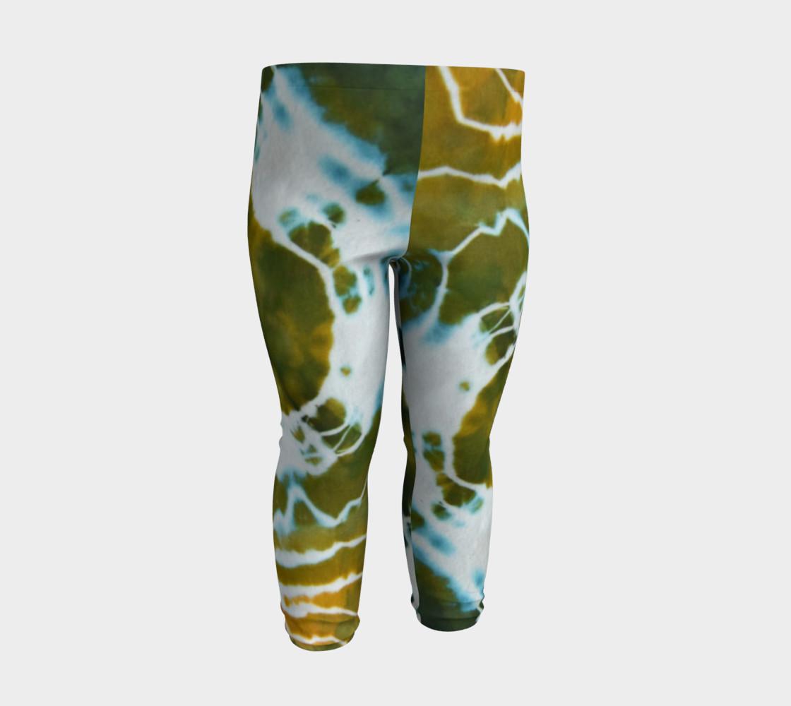 Green Geode Baby Leggings preview #3