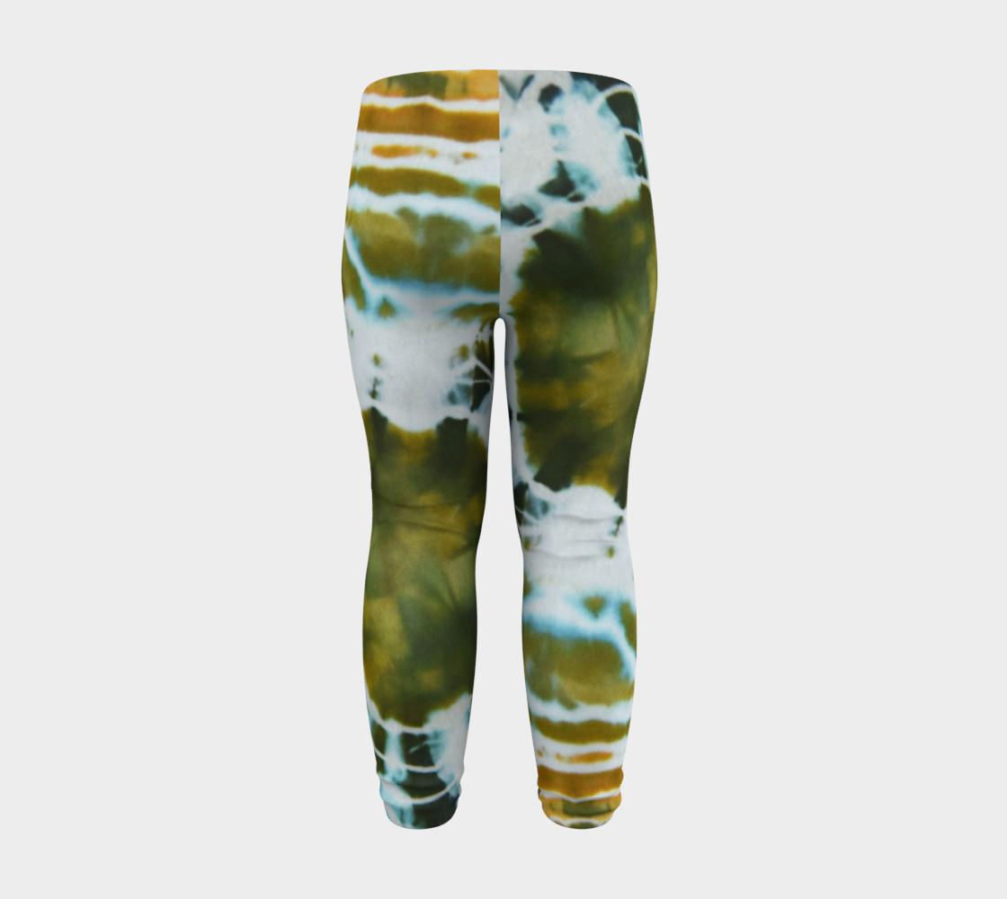 Green Geode Baby Leggings preview #8