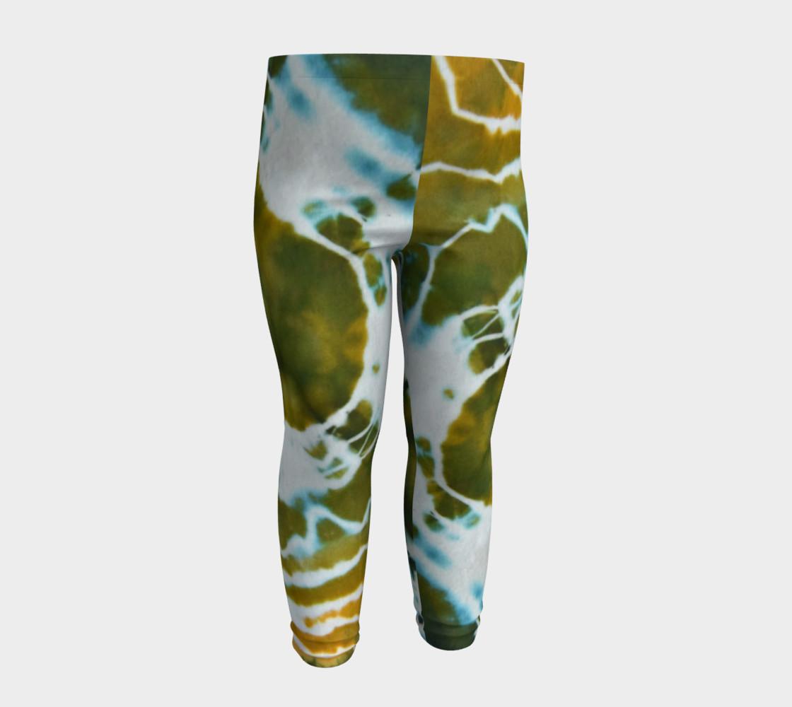Green Geode Baby Leggings preview #4