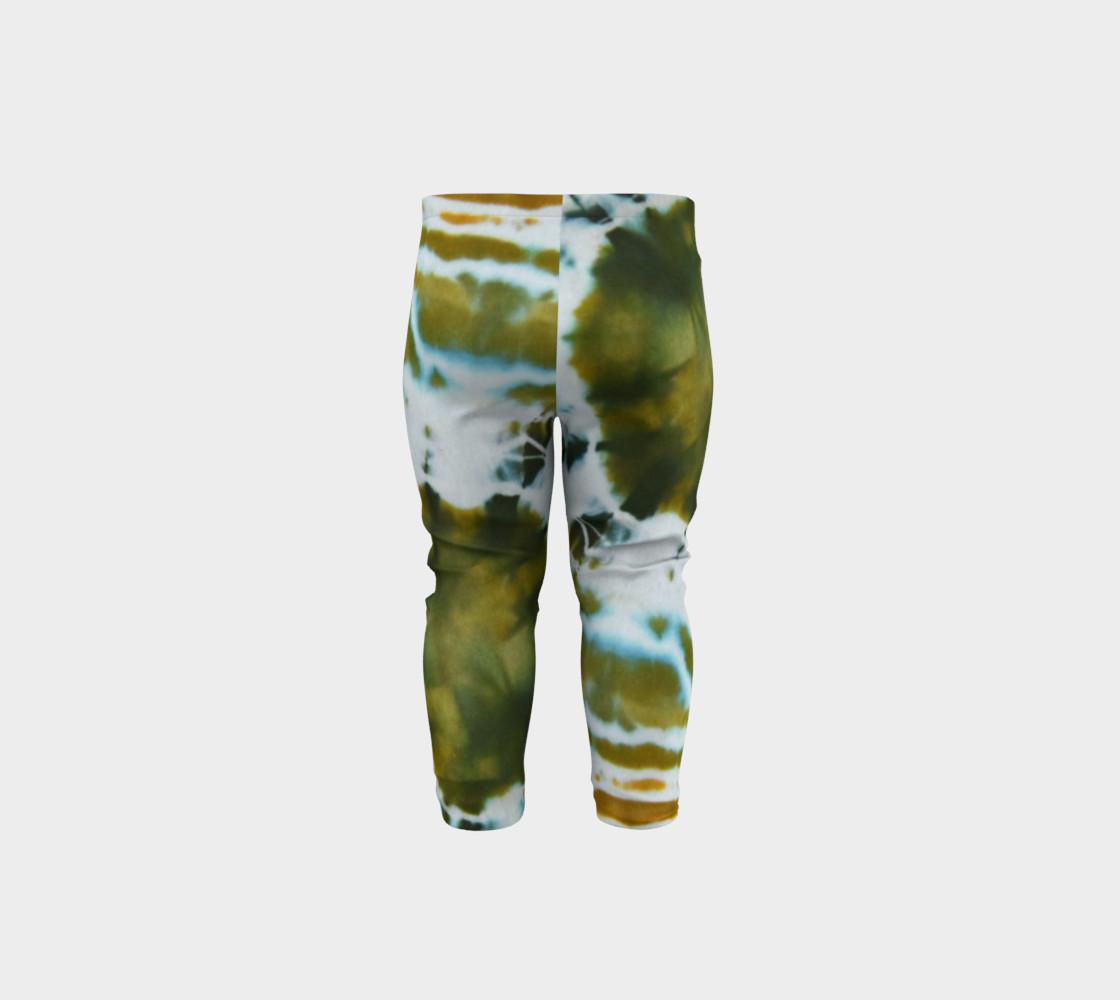 Green Geode Baby Leggings preview #5