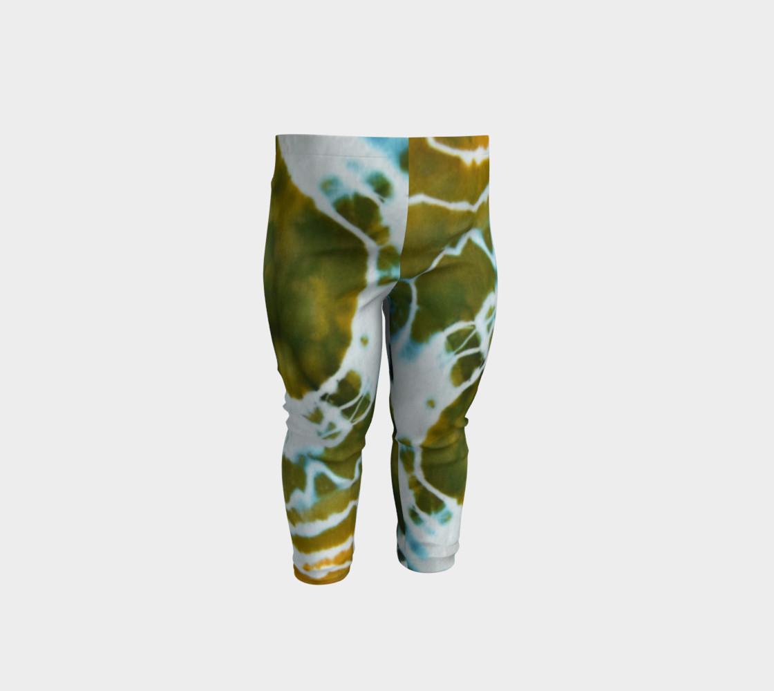 Green Geode Baby Leggings preview #1