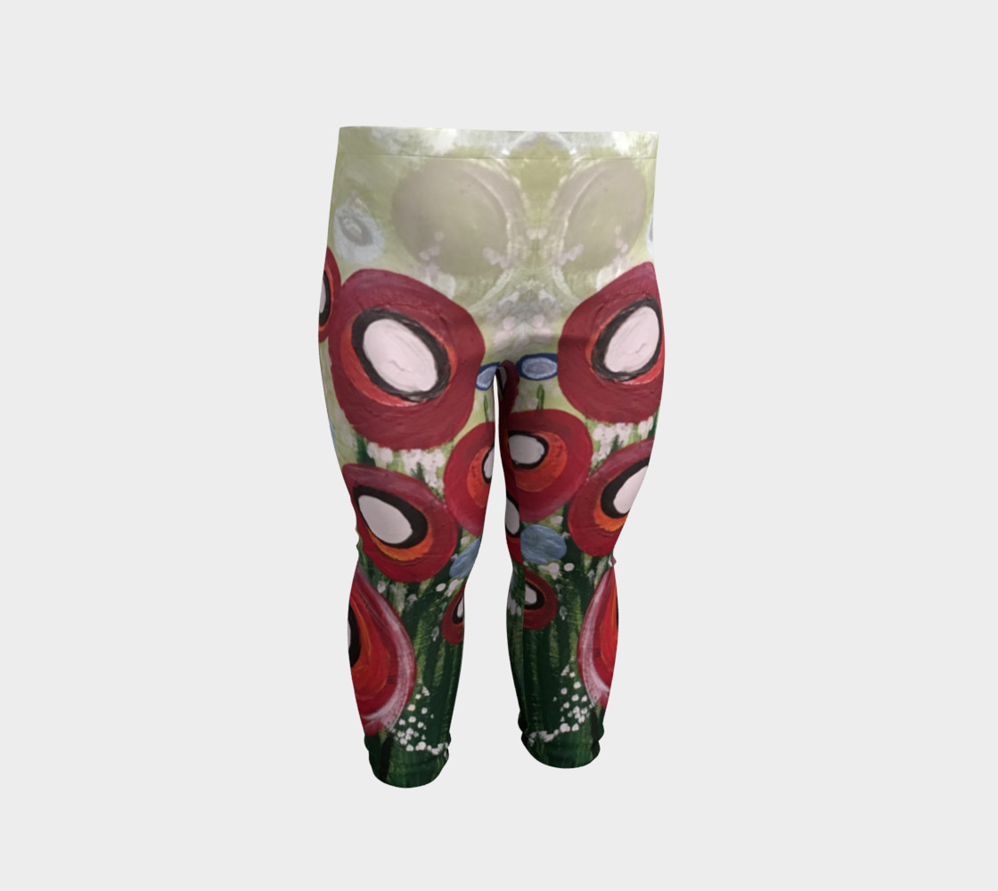 Aperçu de Whimsical Poppy Baby Leggings #2