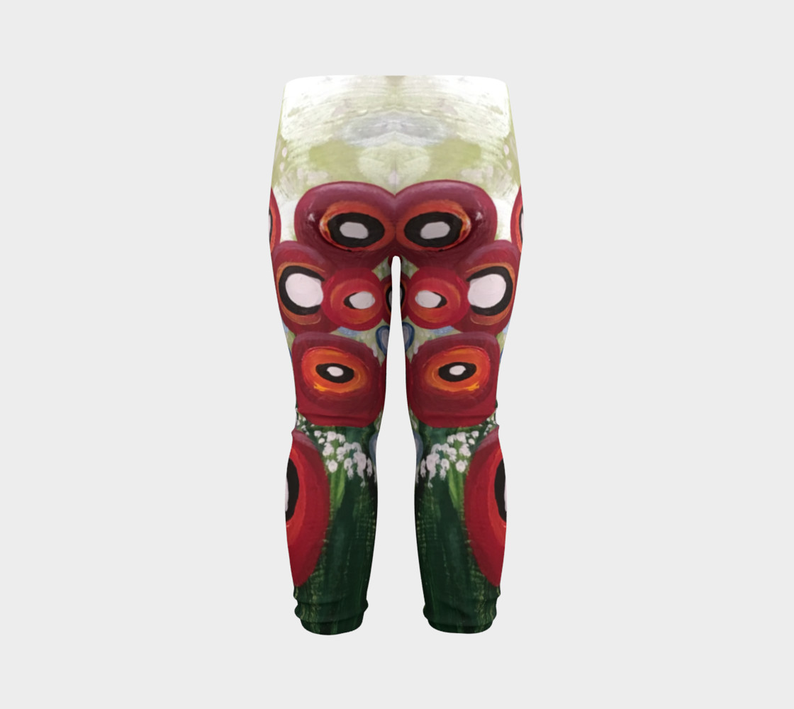 Aperçu de Whimsical Poppy Baby Leggings #7