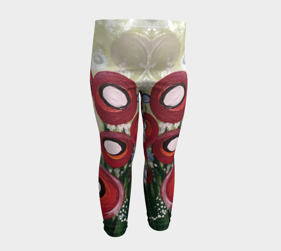 Aperçu de Whimsical Poppy Baby Leggings #4