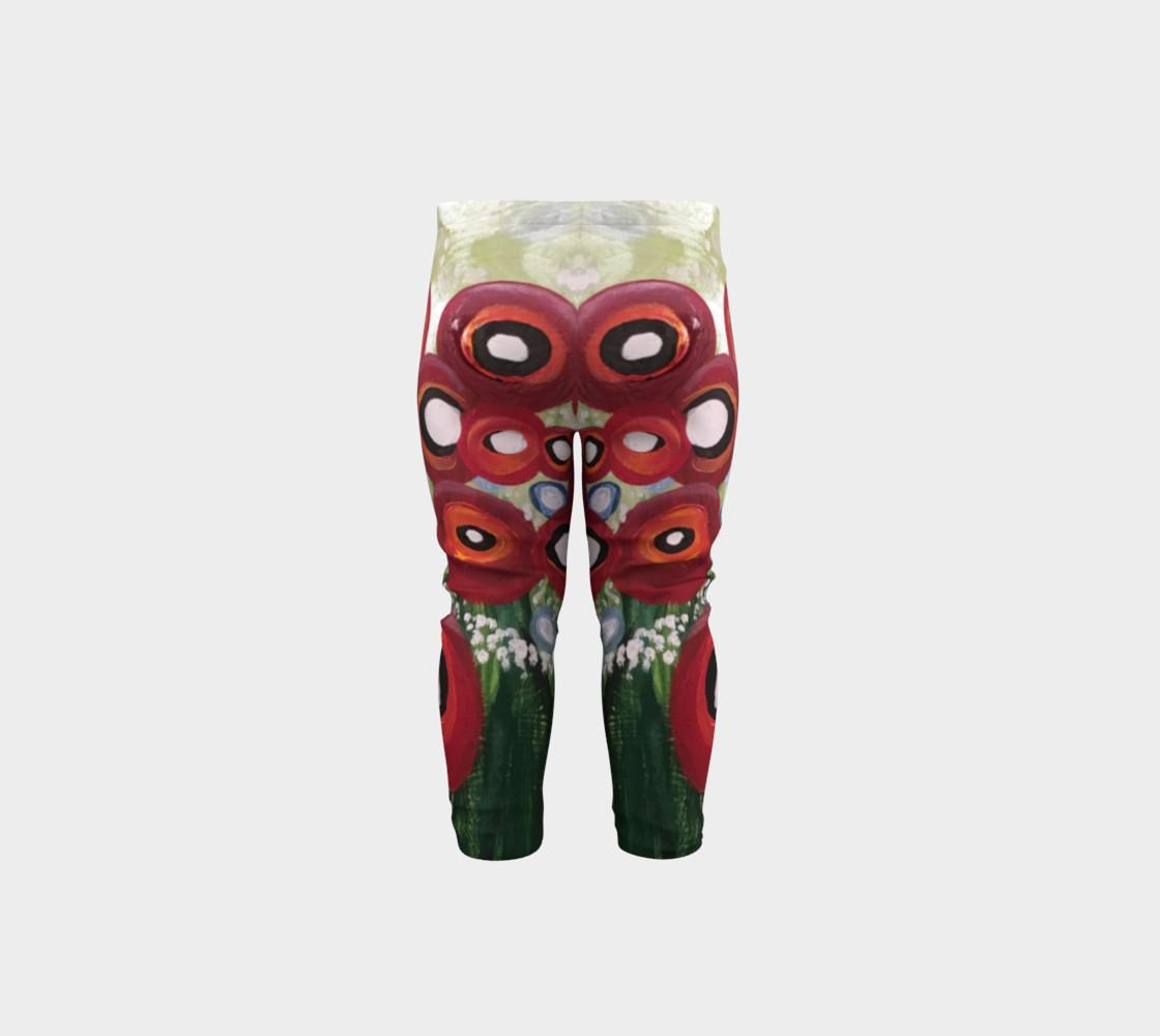 Aperçu de Whimsical Poppy Baby Leggings #5