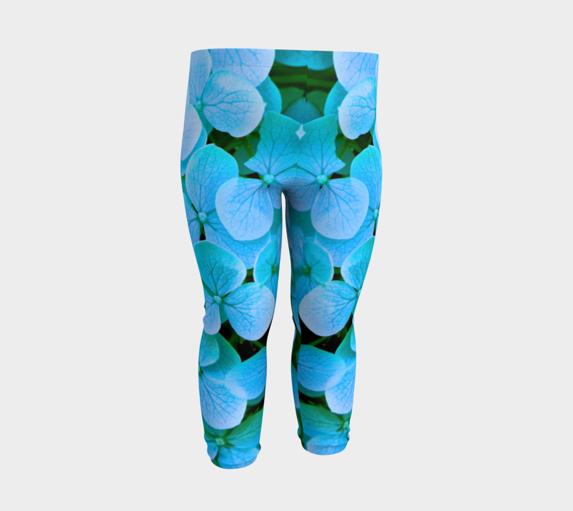 Aperçu de baby blue flower leggings #3