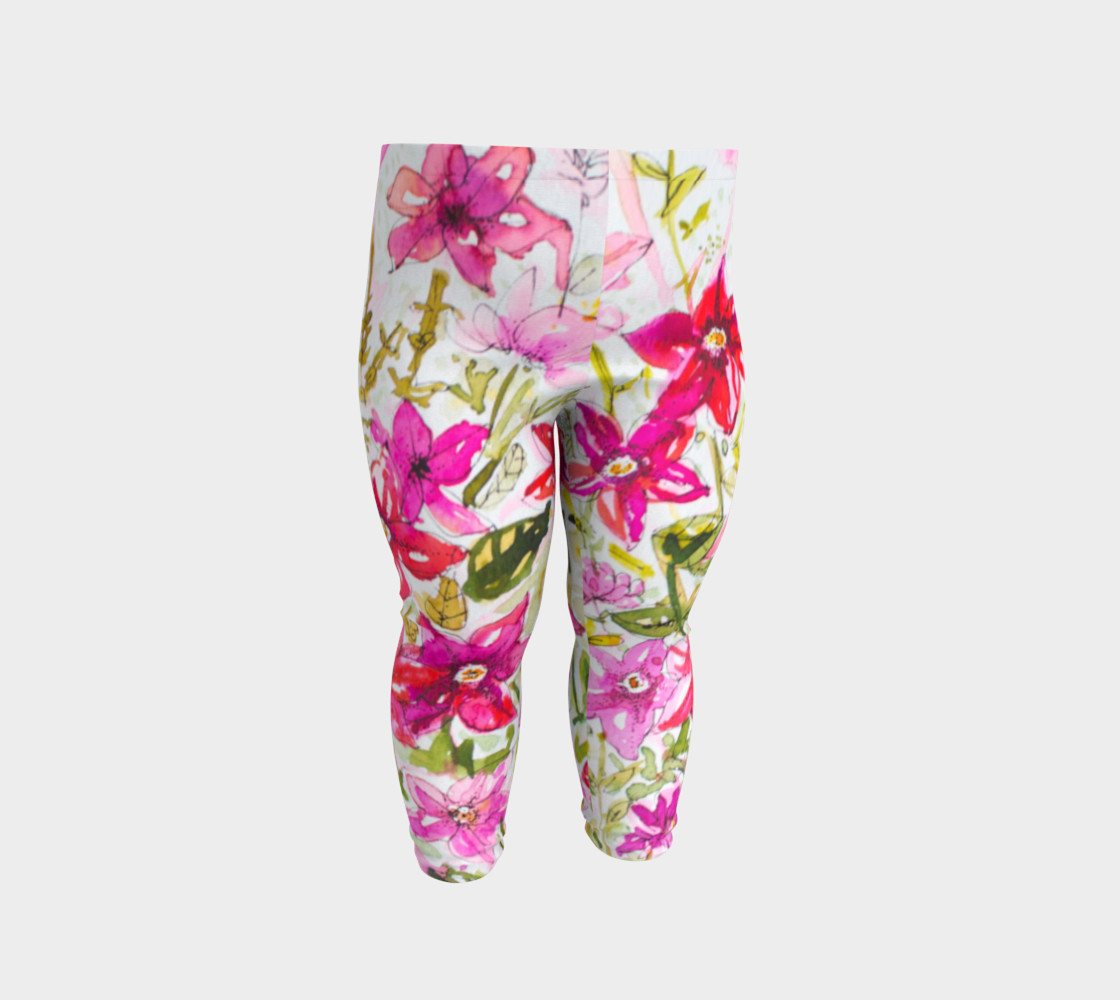Baby leggings Pink Mademoiselle preview #2