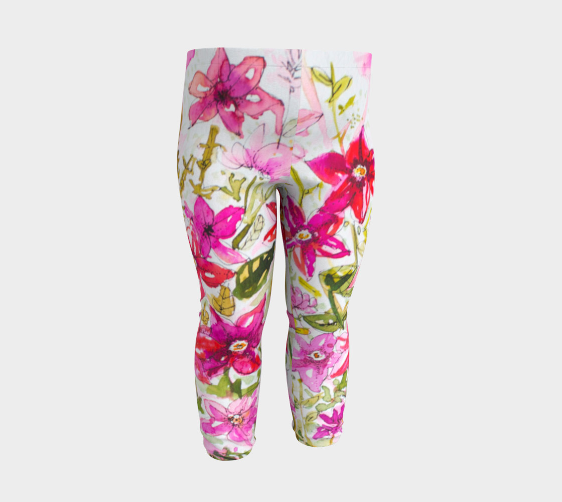 Baby leggings Pink Mademoiselle preview #3