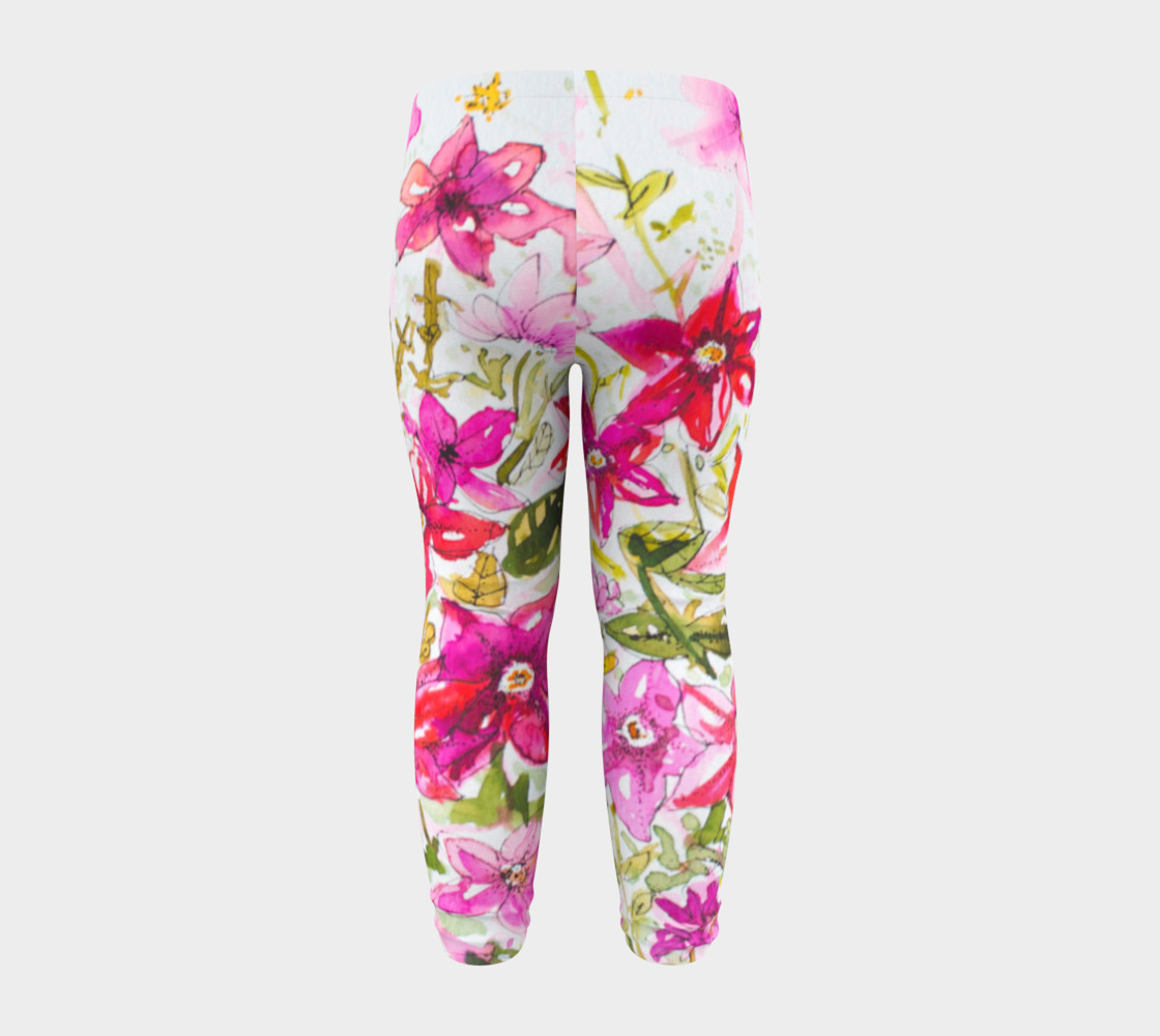 Baby leggings Pink Mademoiselle preview #8