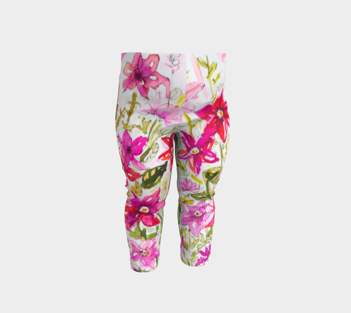 Baby leggings Pink Mademoiselle preview #1