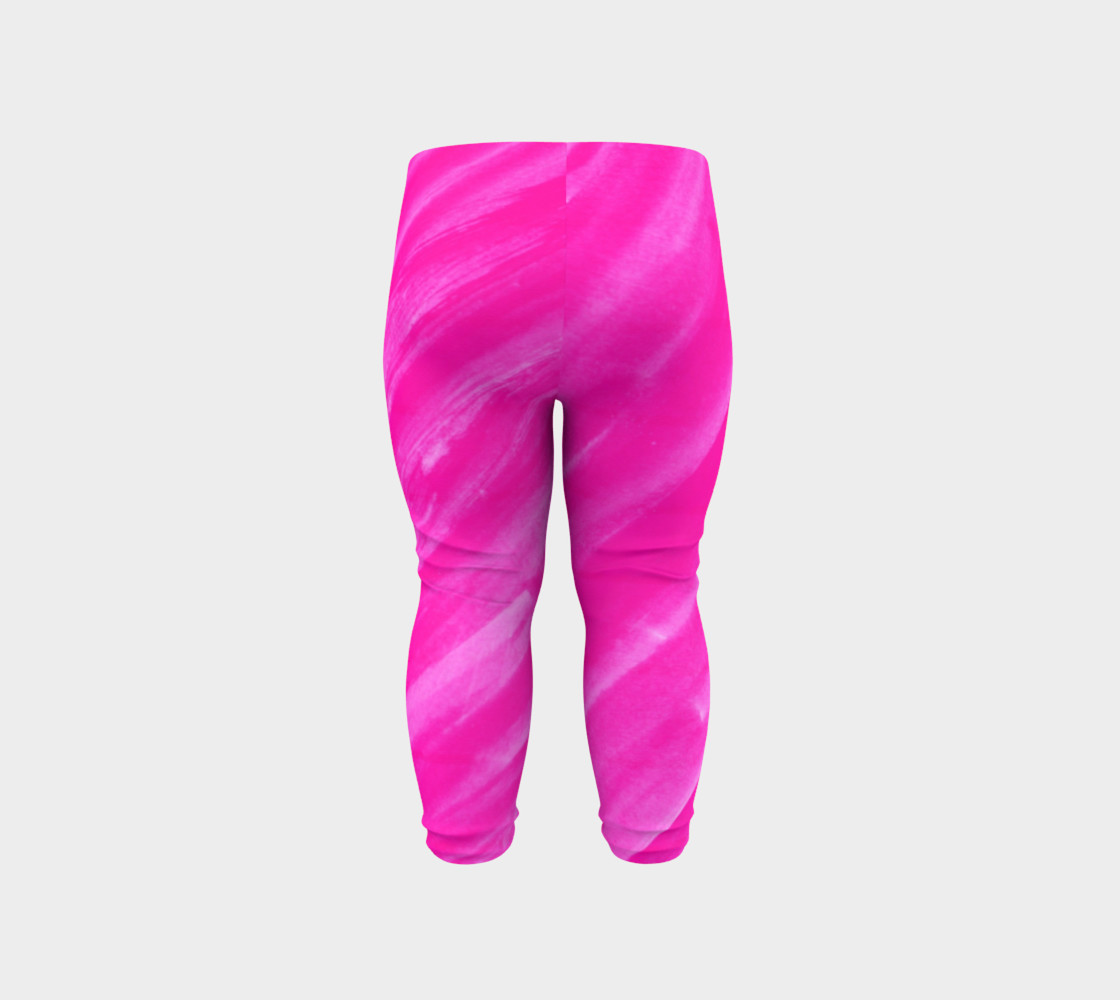 Hot Pink Happiness Baby Legging preview #6