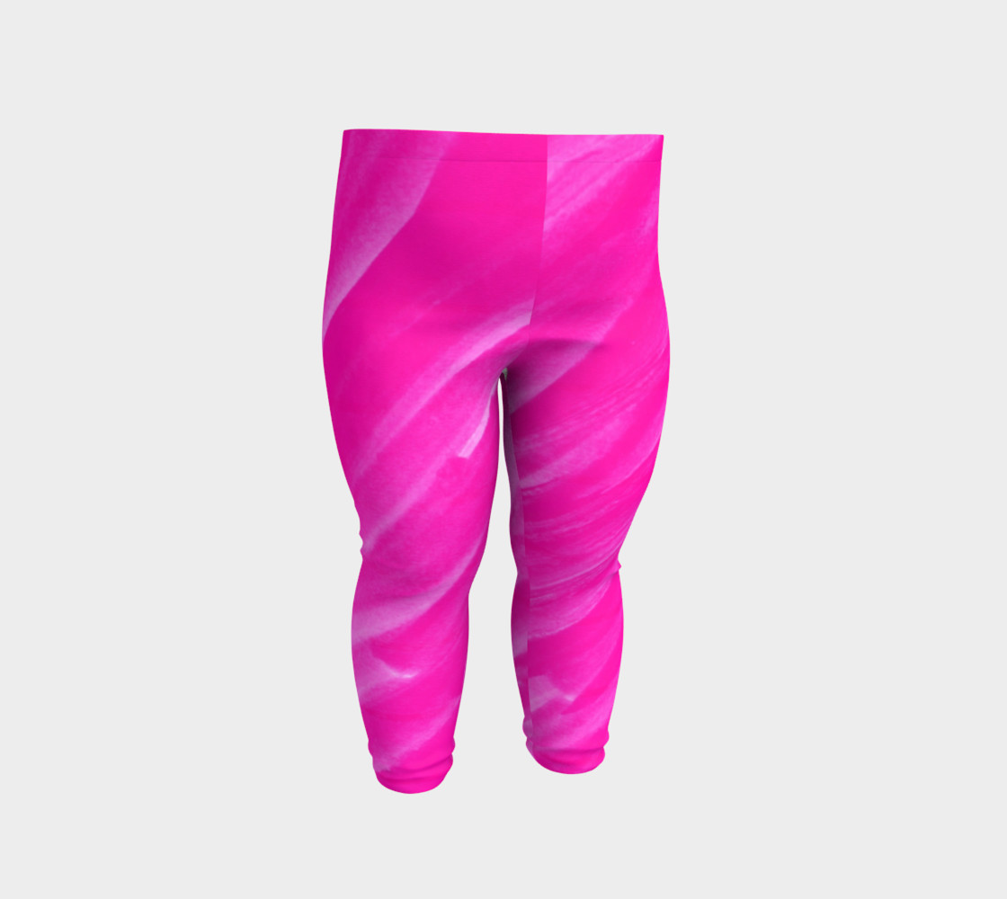 Hot Pink Happiness Baby Legging preview #2