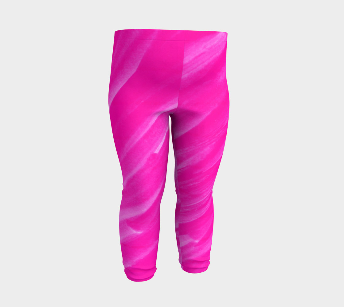 Hot Pink Happiness Baby Legging preview #3