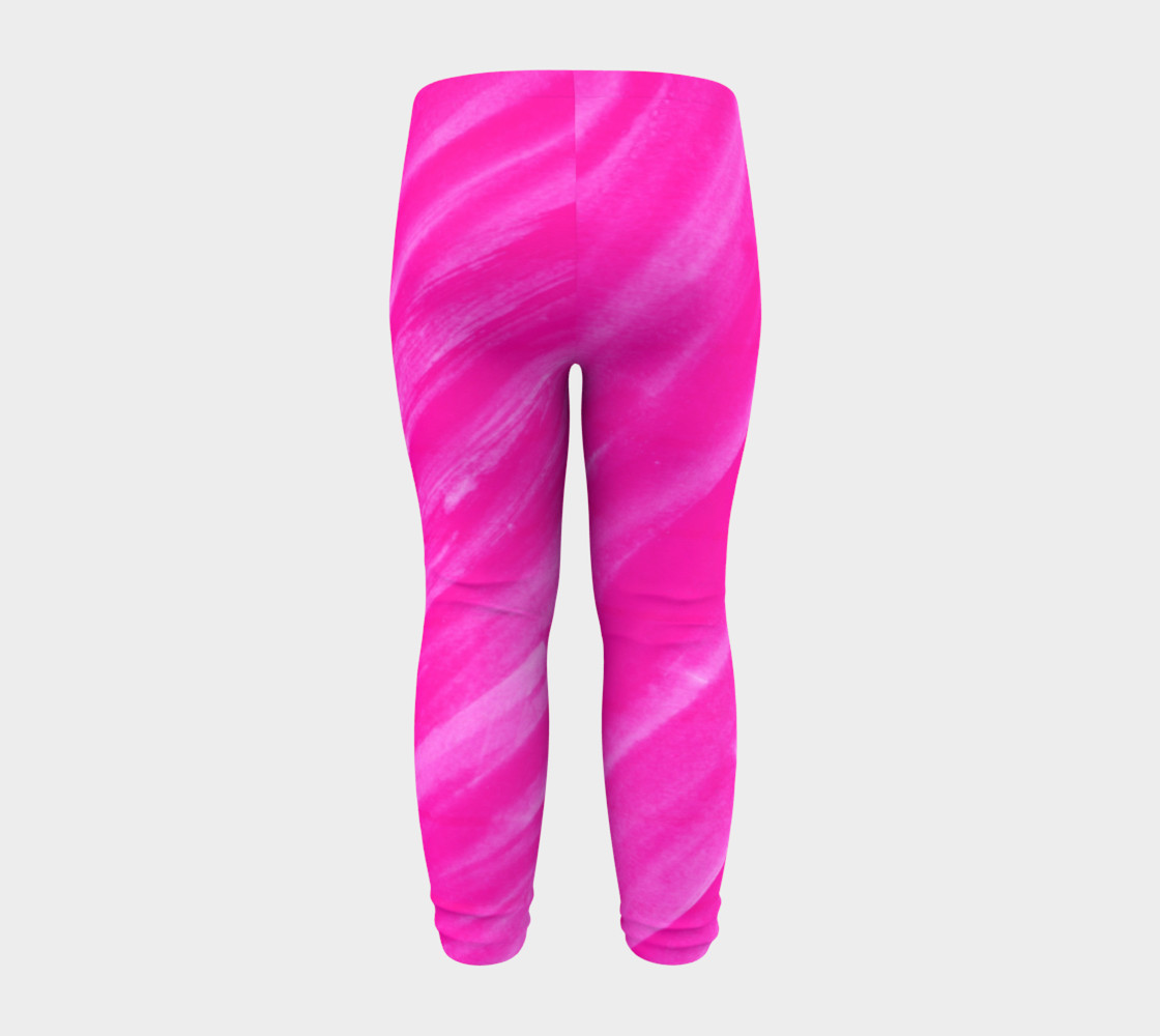 Hot Pink Happiness Baby Legging preview #8