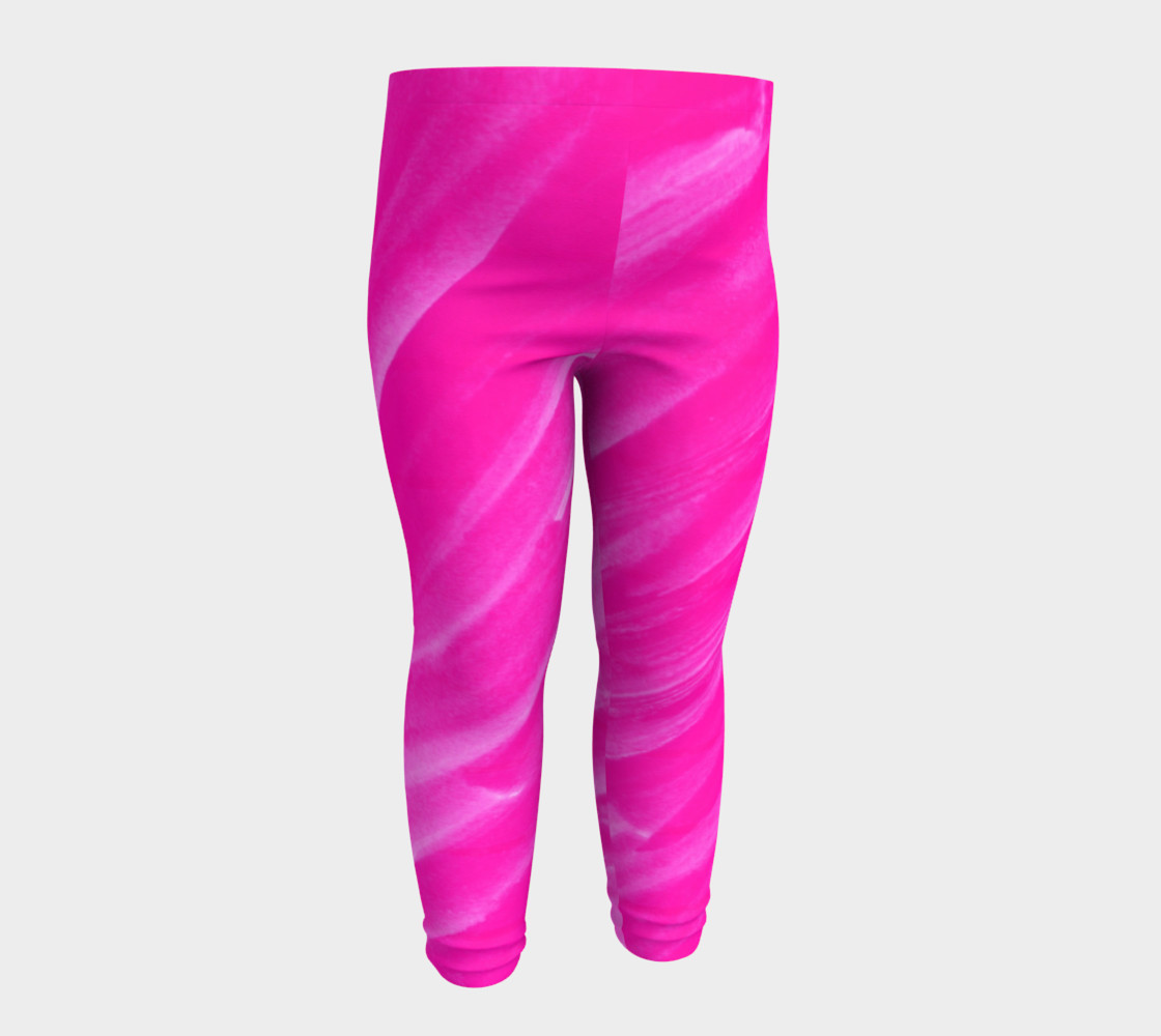 Hot Pink Happiness Baby Legging preview #4