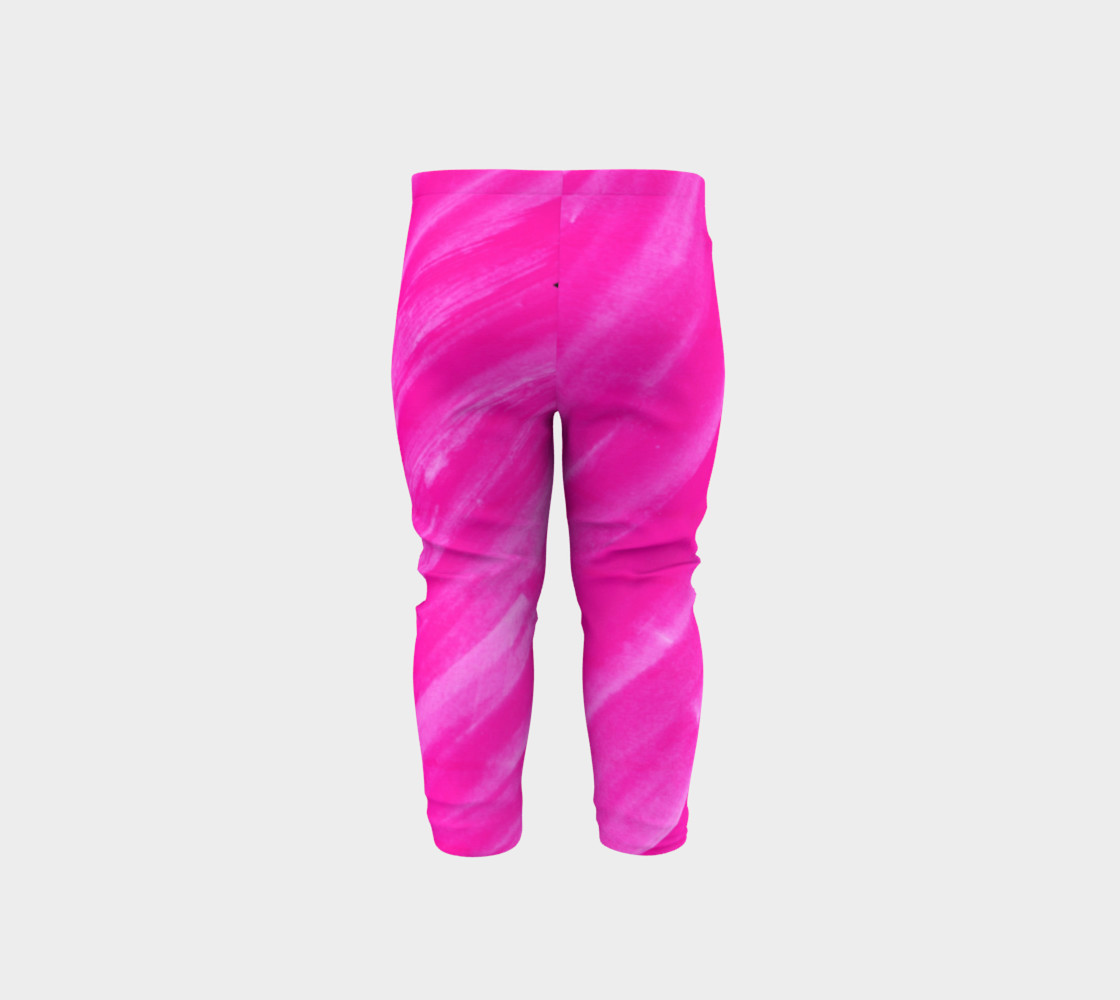 Hot Pink Happiness Baby Legging preview #5