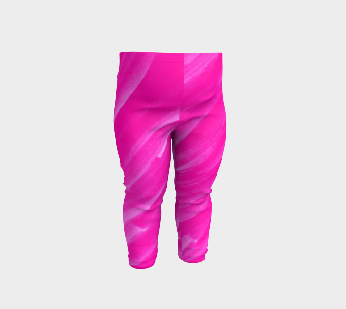 Hot Pink Happiness Baby Legging preview #1