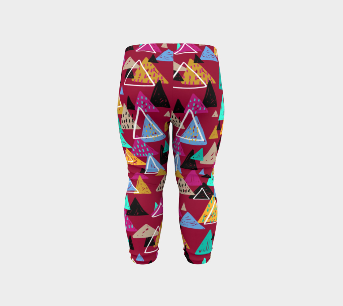 Oaxaca Mountains Baby Leggings preview #6