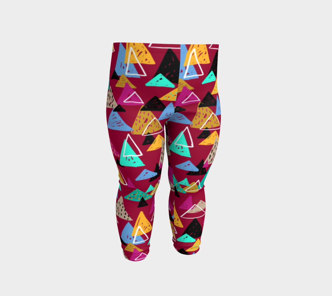 Oaxaca Mountains Baby Leggings preview #2