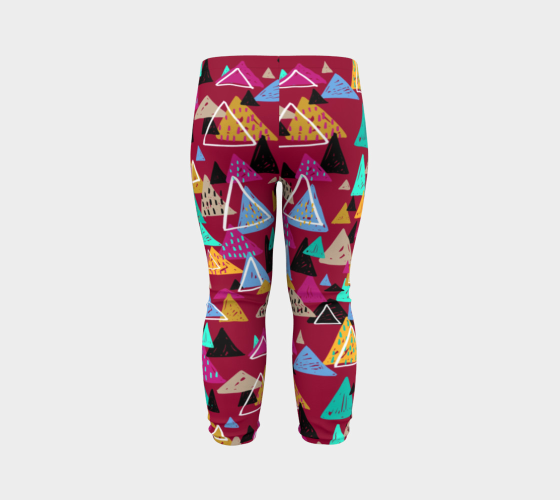 Oaxaca Mountains Baby Leggings preview #7