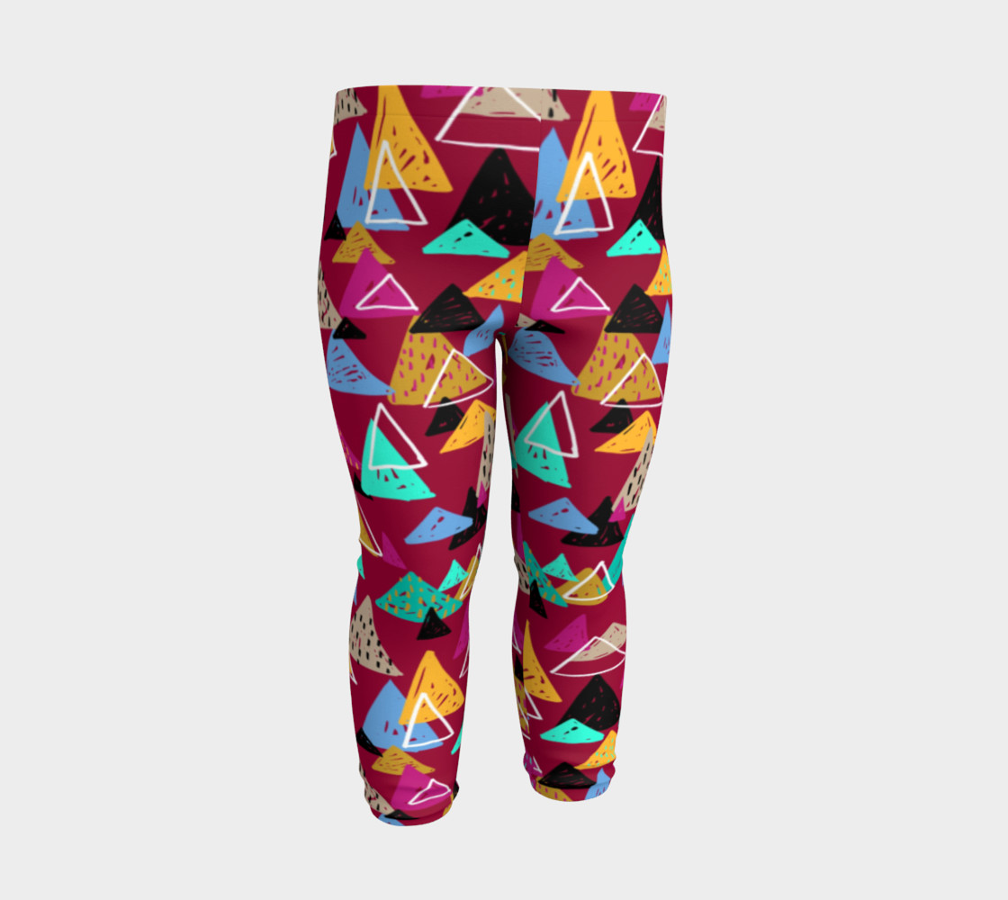Oaxaca Mountains Baby Leggings preview #3