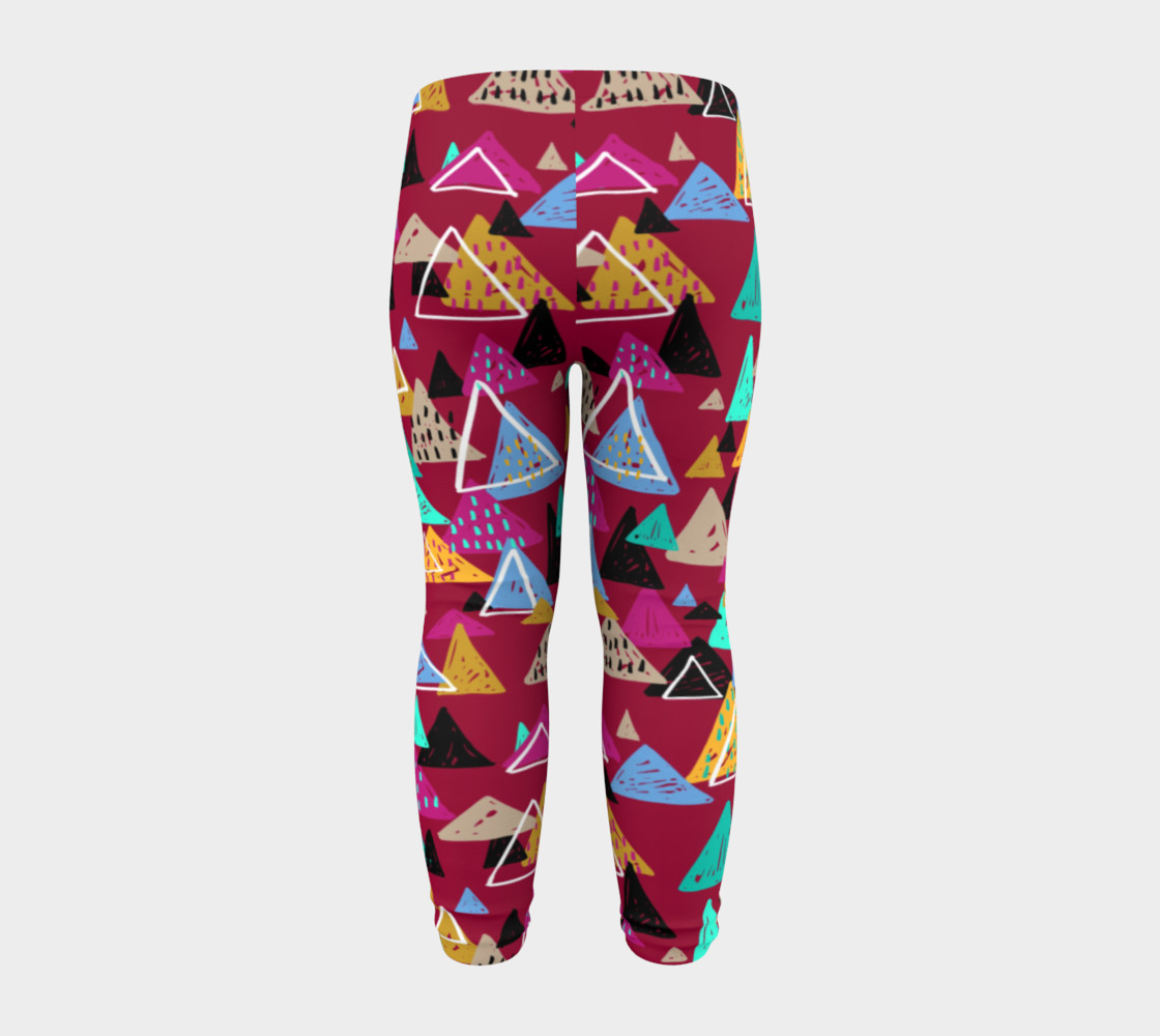 Oaxaca Mountains Baby Leggings preview #8