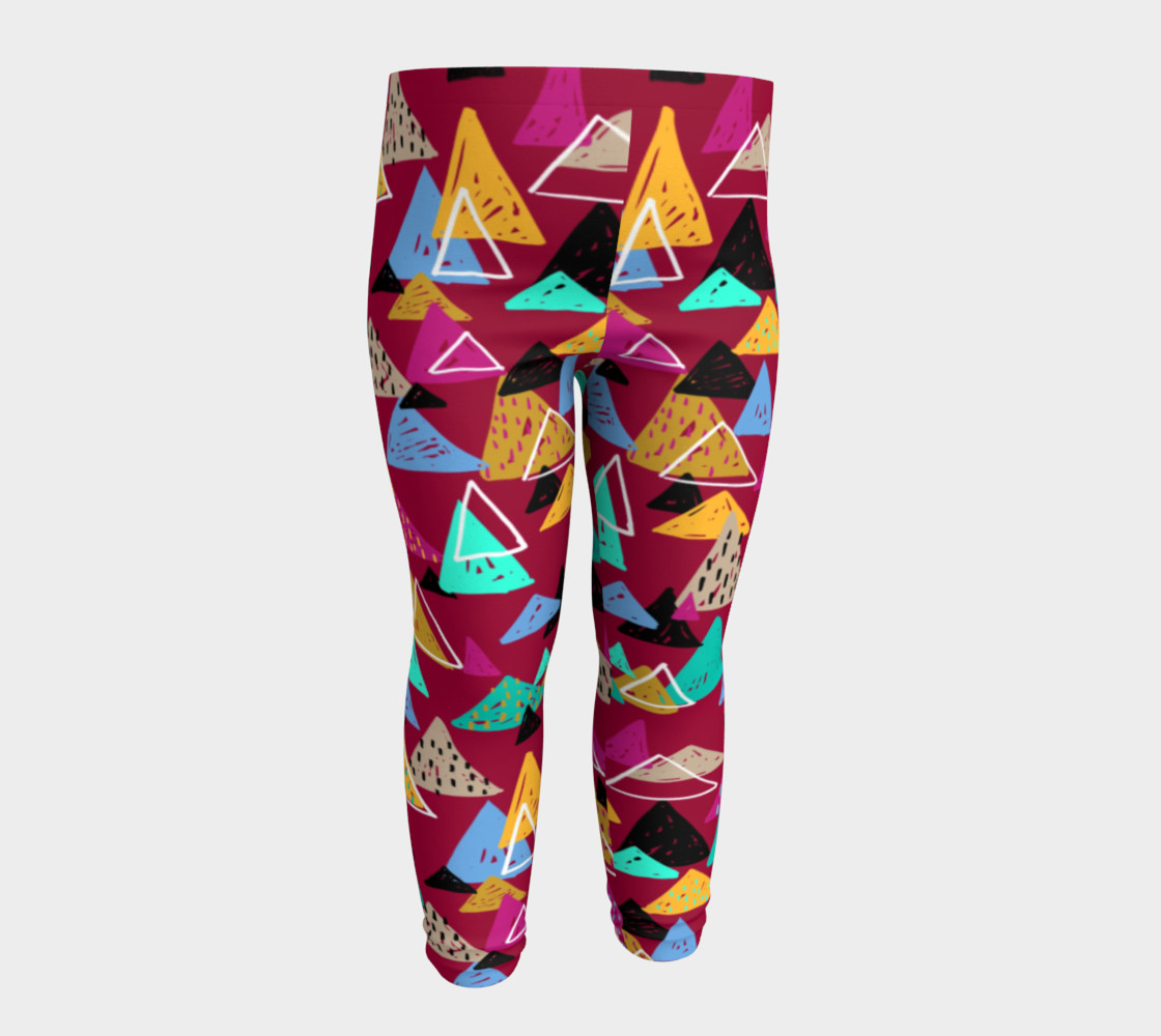 Oaxaca Mountains Baby Leggings preview #4