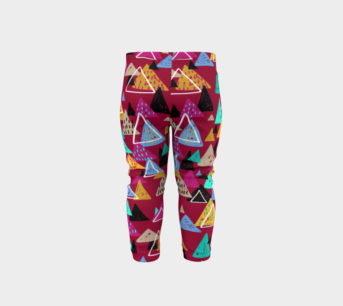 Oaxaca Mountains Baby Leggings preview #5