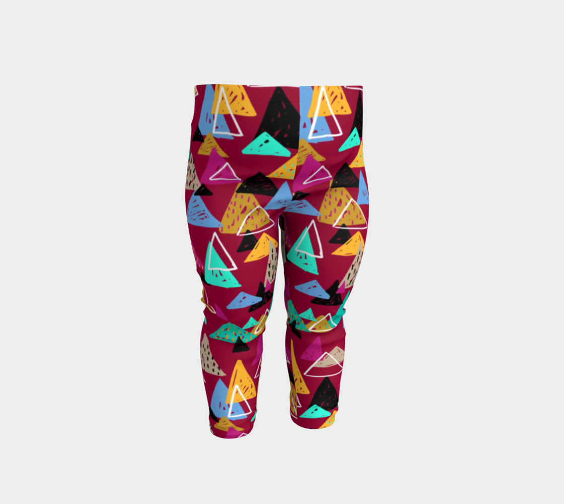 Oaxaca Mountains Baby Leggings preview #1