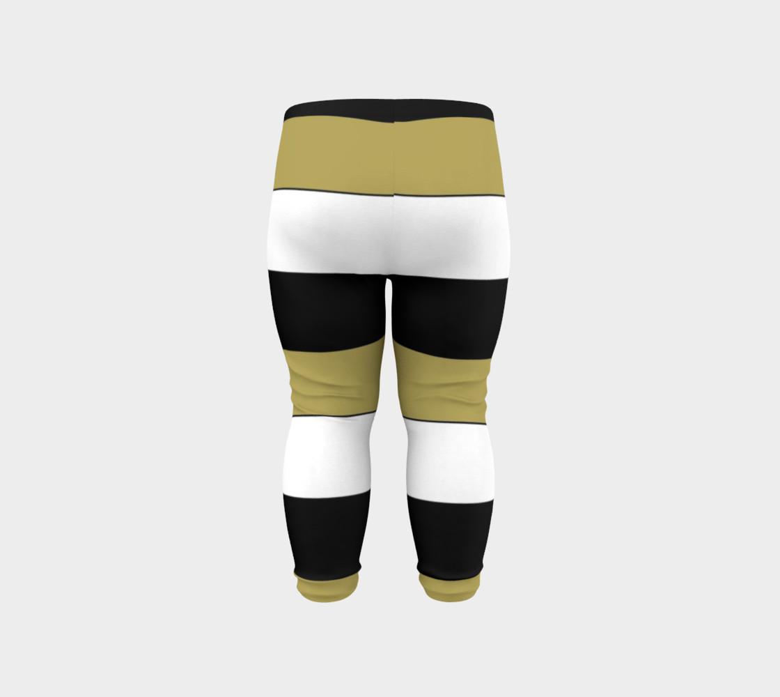 Elegant Black White Brown Gold Stripes Pattern preview #6