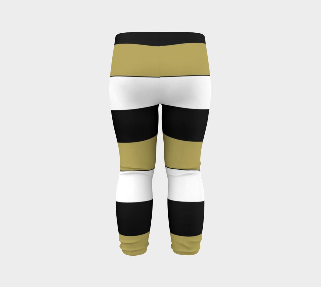 Elegant Black White Brown Gold Stripes Pattern preview #7