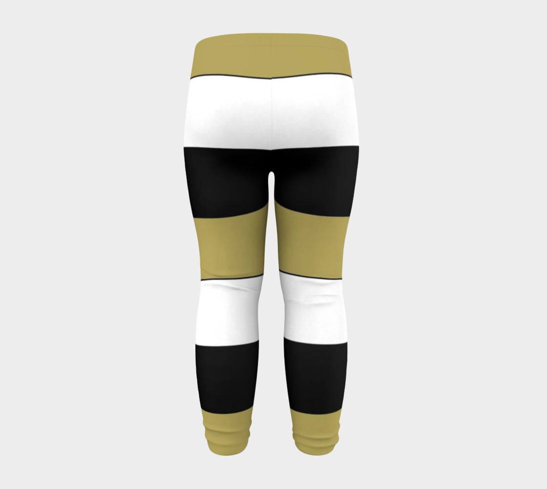 Elegant Black White Brown Gold Stripes Pattern preview #8