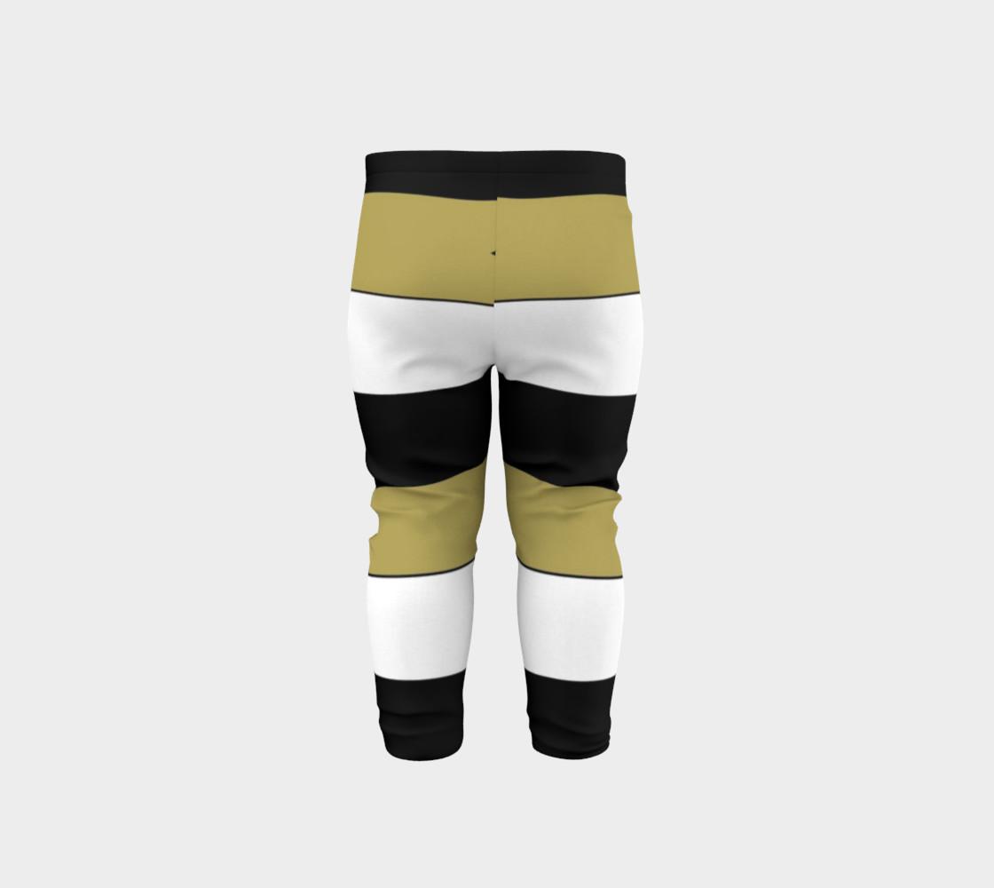 Elegant Black White Brown Gold Stripes Pattern preview #5