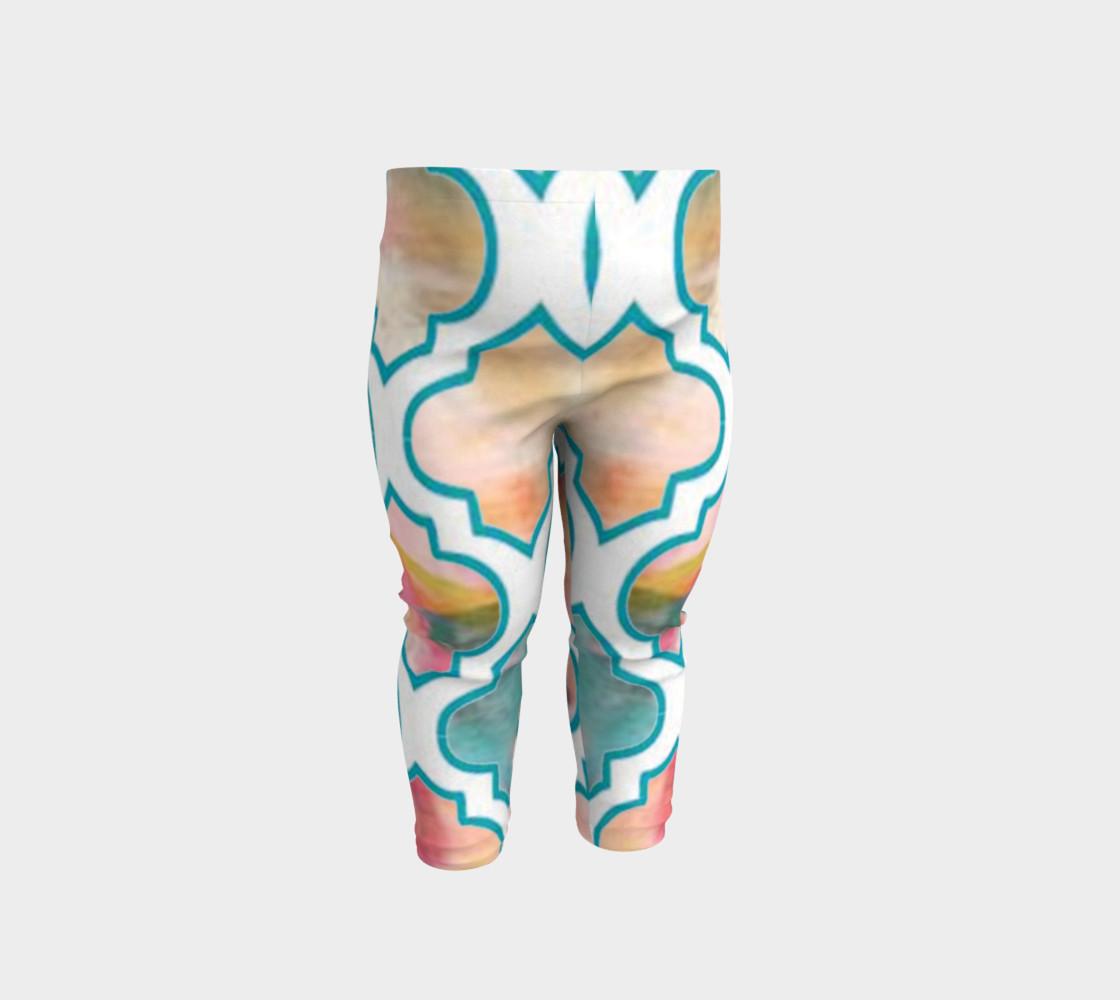 Aperçu de Moroccan Trellis Little Peeples Pant #1