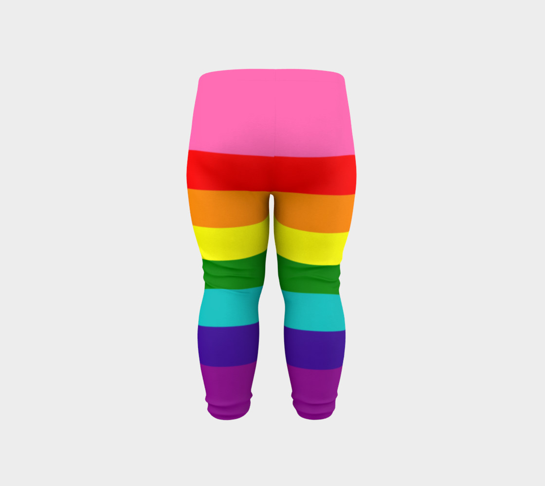Rainbow Flag Original 8 Stripes Pattern LGBT Pride preview #6