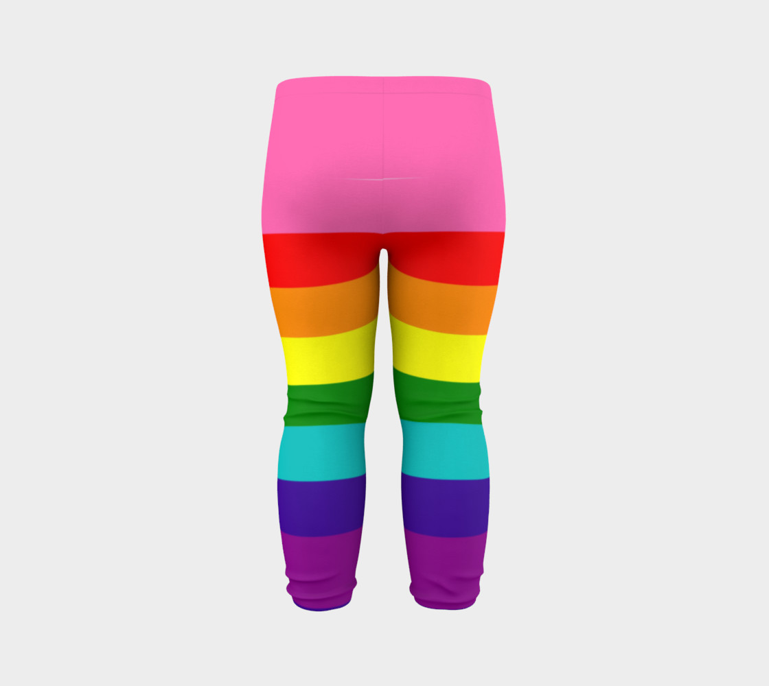 Rainbow Flag Original 8 Stripes Pattern LGBT Pride preview #7