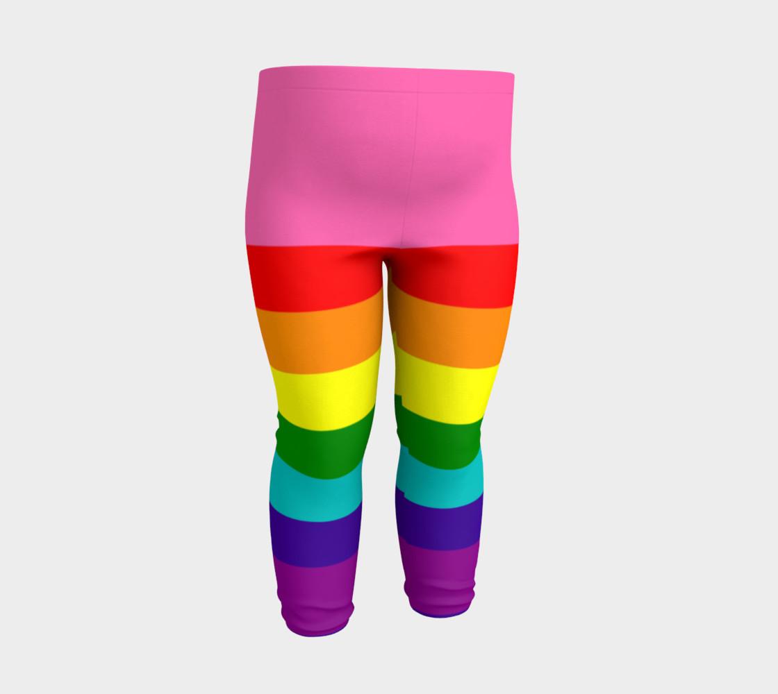 Rainbow Flag Original 8 Stripes Pattern LGBT Pride preview #3