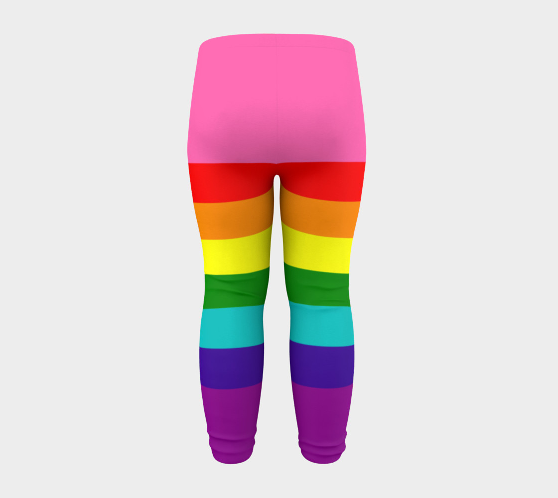 Rainbow Flag Original 8 Stripes Pattern LGBT Pride preview #8