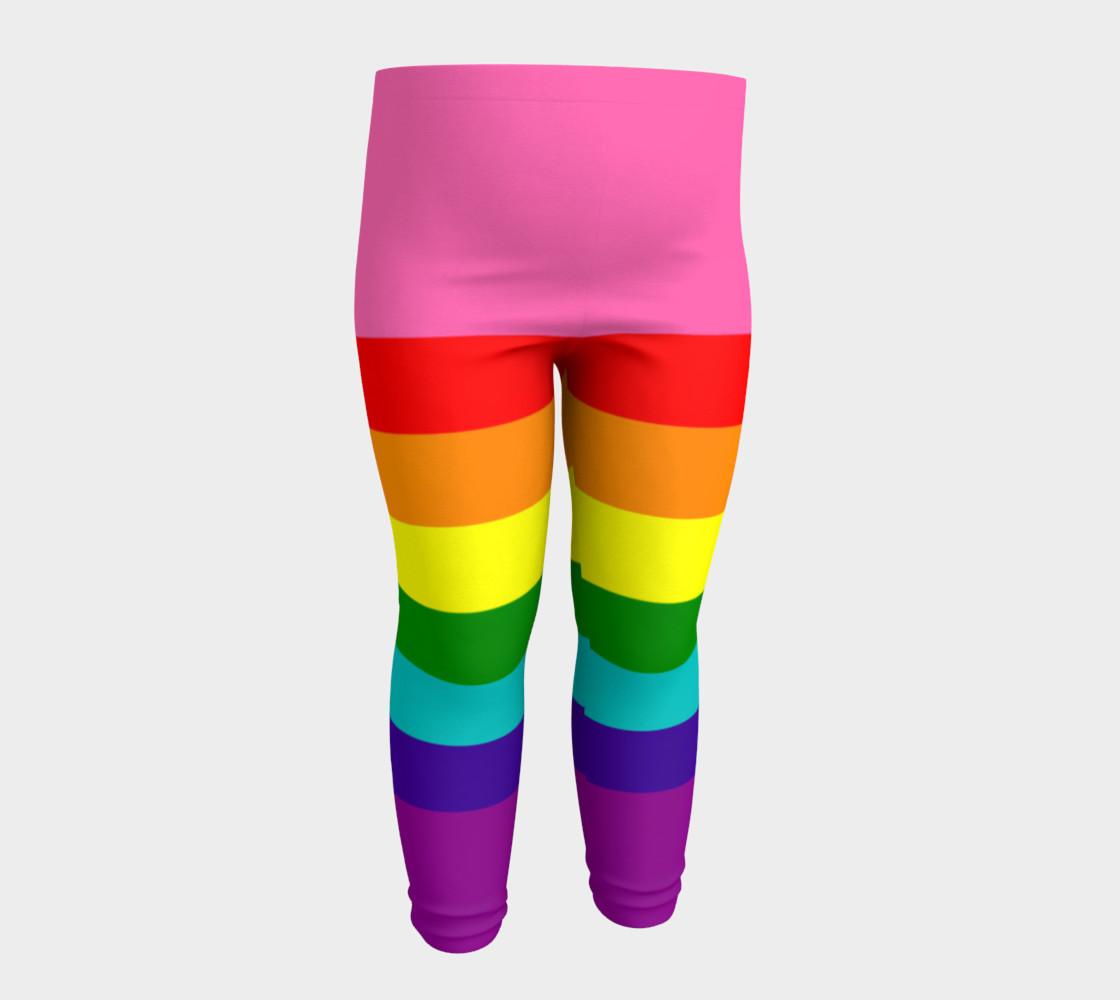 Rainbow Flag Original 8 Stripes Pattern LGBT Pride preview #4