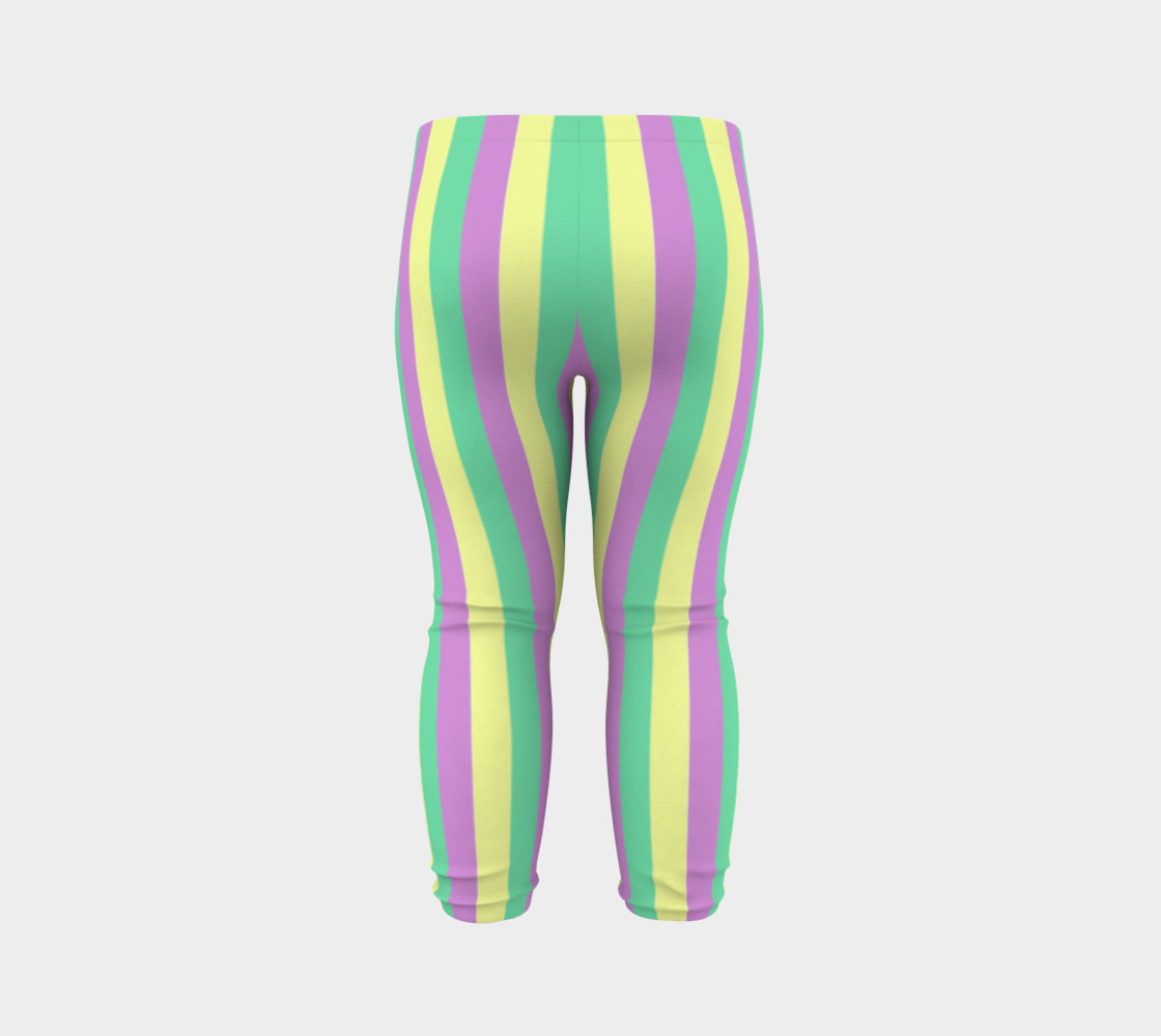 Mardi Gras Leggings- Stripes (Baby/Kids) preview #7