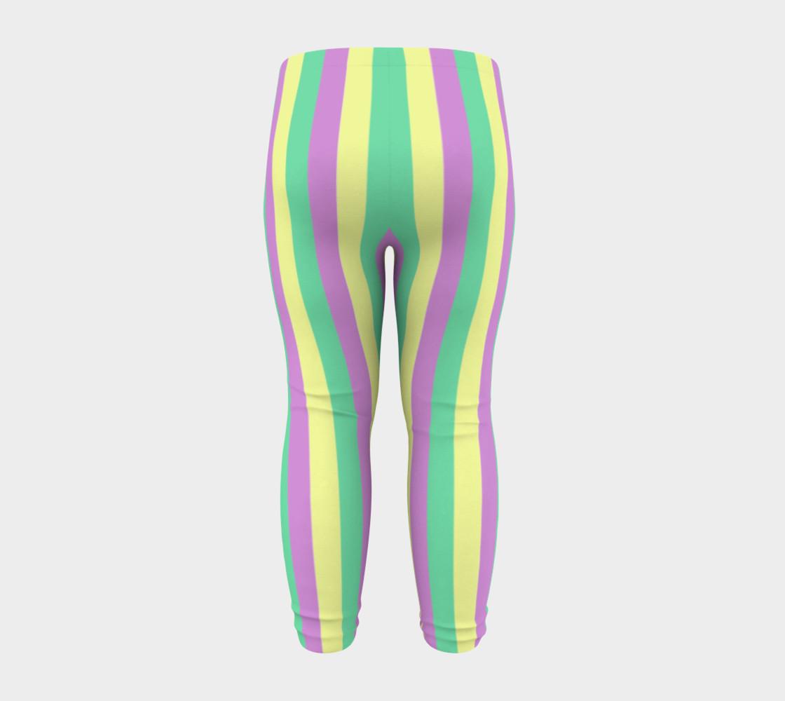 Mardi Gras Leggings- Stripes (Baby/Kids) preview #8