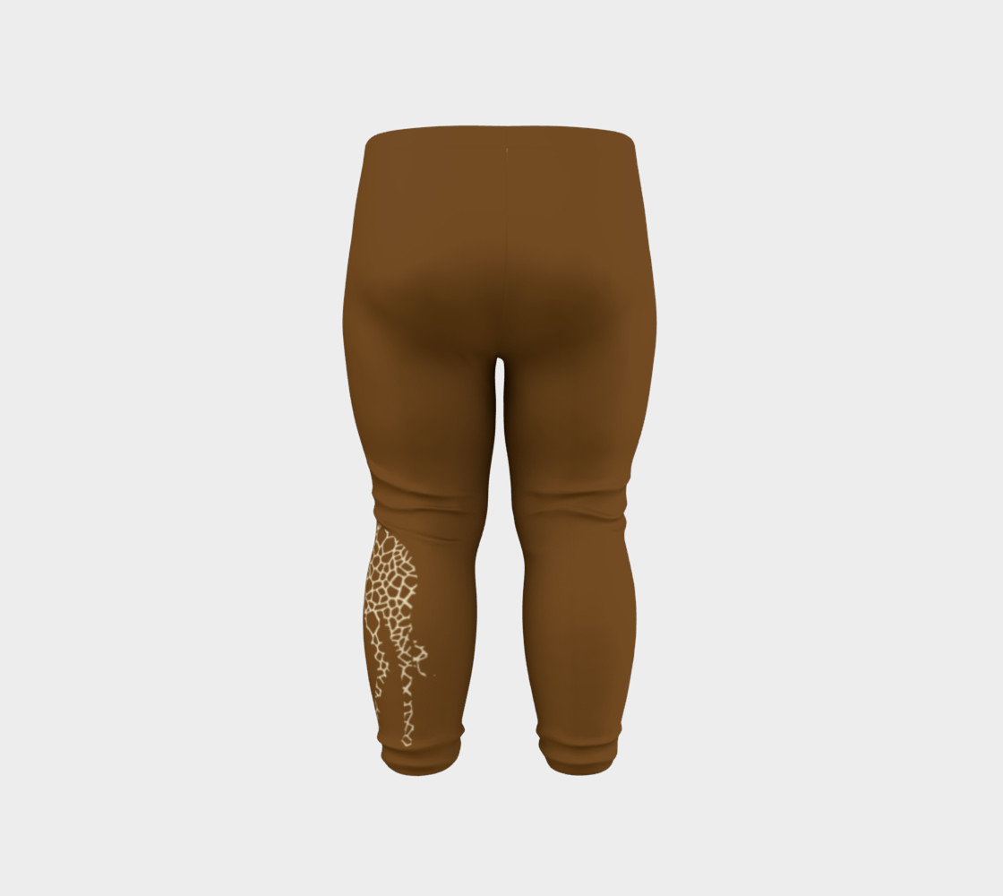 Baby and kid Giraffe Safari Leggings preview #6