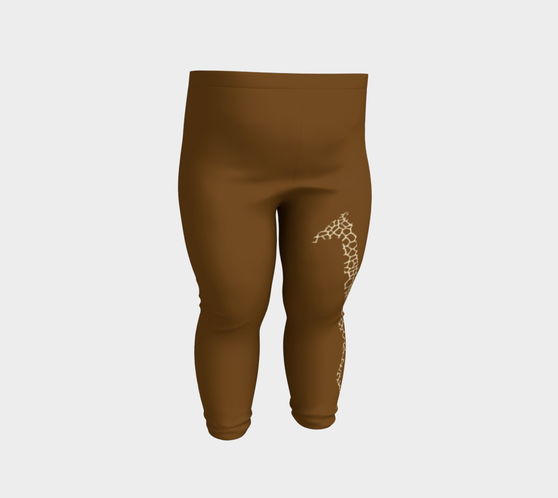 Baby and kid Giraffe Safari Leggings preview #2