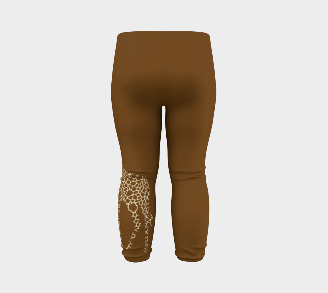 Baby and kid Giraffe Safari Leggings preview #7