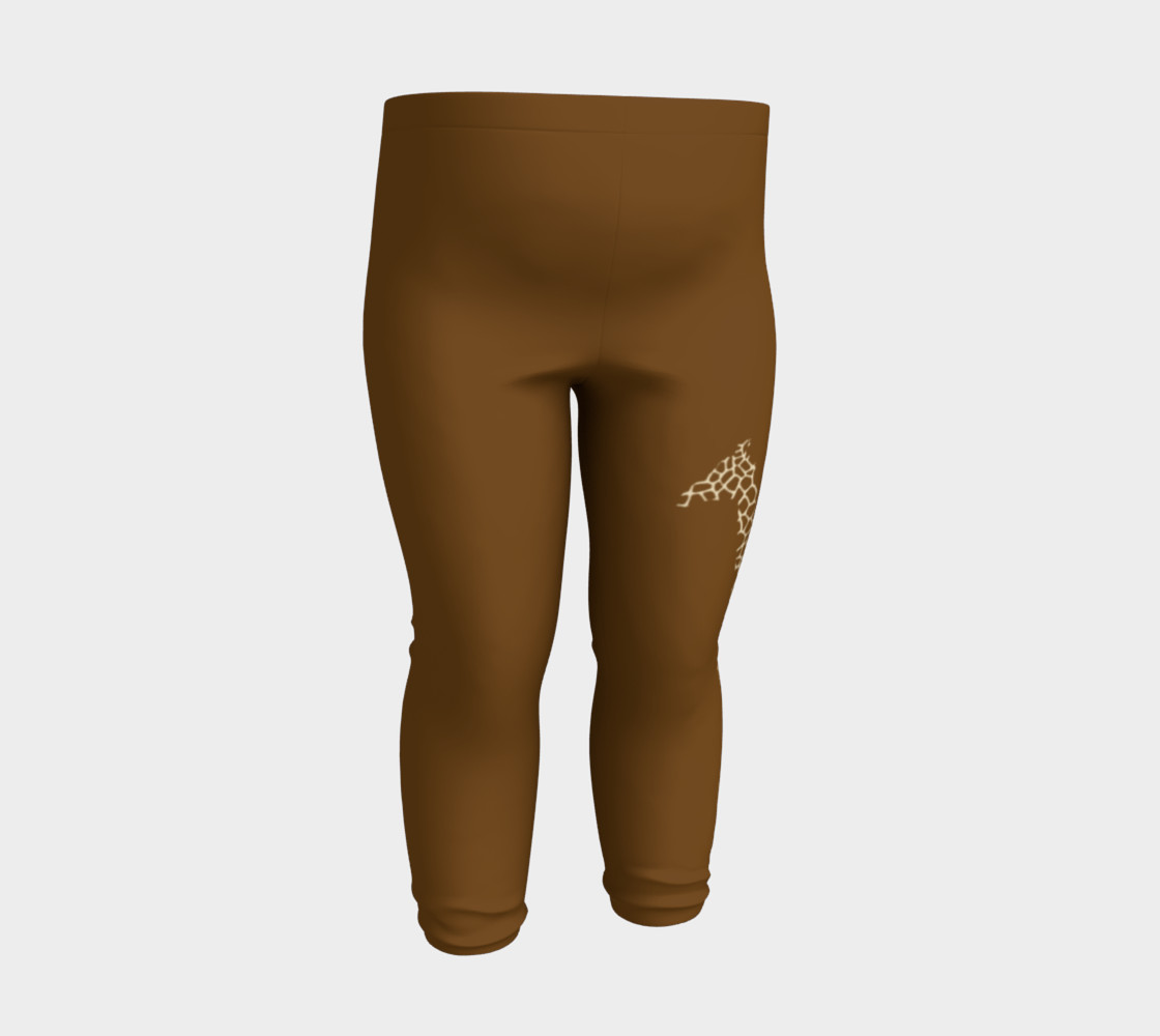 Baby and kid Giraffe Safari Leggings preview #3