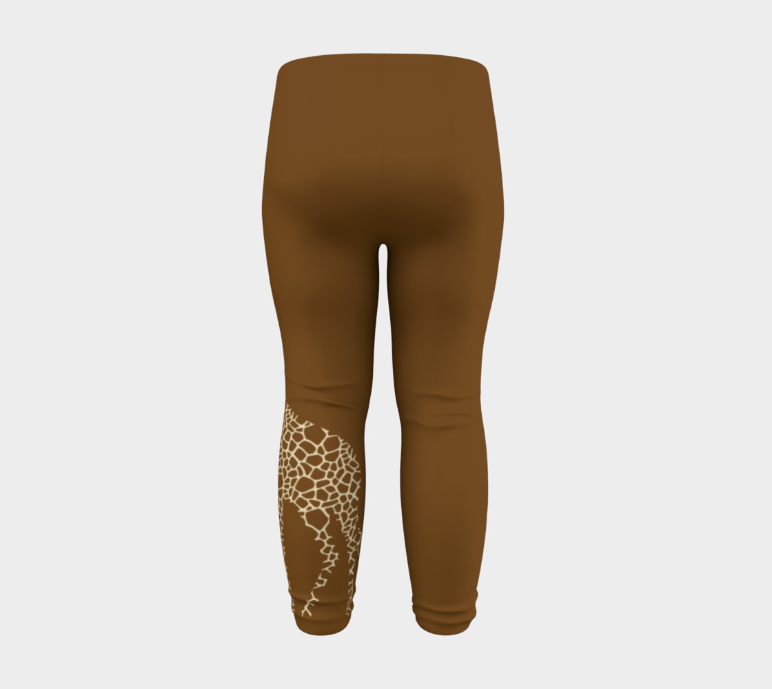 Baby and kid Giraffe Safari Leggings preview #8