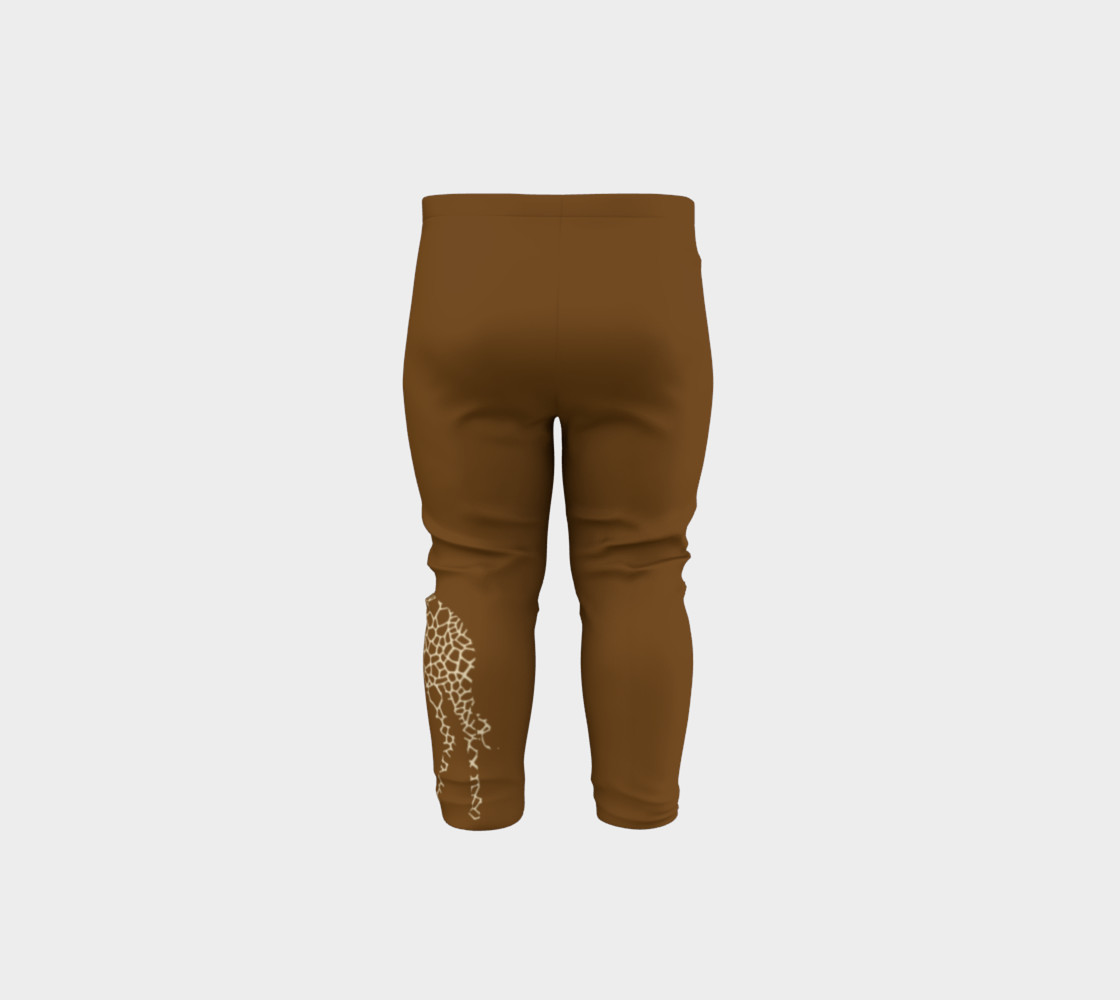 Baby and kid Giraffe Safari Leggings preview #5